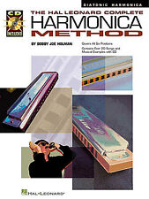 Complete Harmonica Method Diatonic Learn to Play Mouth Organ Music Book & CD