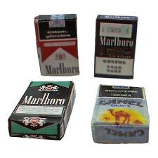 Lot/Set 4 Cigarette Cigaret Box 1:12 Scale Dolls House Dollhouse Miniature 4pcs
