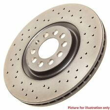 Rear Performance High Carbon Drilled Brake Disc (Pair) 08.A202.1X - Brembo Xtra