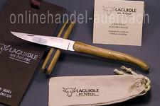 Laguiole en Aubrac  L0512RLI/LSB1  Olivenholz 12 cm  Taschenmesser  Messer
