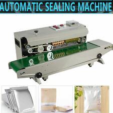 New Continuous Auto Sealing Machine Band Sealer Plastic Bag Film 110v