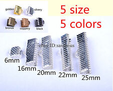 50/100Pieces various wristlet clip clasp silver plated metal diy jewelry finding