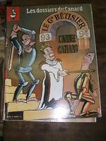 Les dossiers du canard enchainé N° 50 1993 Le grand bêtisier L'année canard