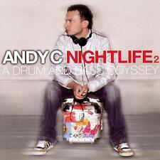 ANDY C = Nightlife 2 = 2CD = A DRUM AND BASS ODYSSEY !!!
