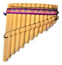 ARTESANAL  PANFLUTE  PAN FLUTE 13 PIPES FROM PERU