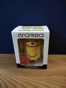 Android Mini Collectible Lucky Cat Series - Yellow