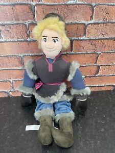 Disney Store Exclusive Prince Kristoff rag doll soft plush cuddly teddy toy doll