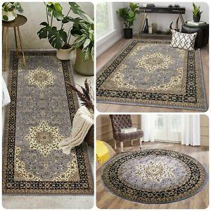 Modern beautiful Large Grey Rugs Living Room Carpet Floor Mats Corridor Runner