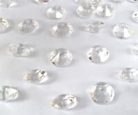 Clear Wedding/Party Table Gems/Confetti/Decorations Crystals/Diamond 6.5mm