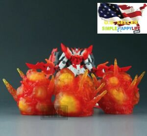 Effect Explosion Red model 1/6 figure hot toys Figma D-arts rider Gundam ❶USA❶