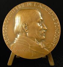 Medaille Georges Moinaux ou Moineau dit Courteline de l'académie Goncourt medal