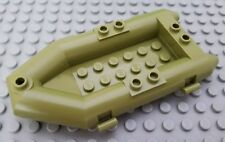 New LEGO Olive Green Rubber Raft Minifigure Boat Accessory