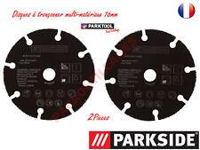 PARKSIDE 2 Disques Multi-Materiaux 76mm-BOSCH GWS10,8/12V-76 et Parkside PWSA12.