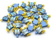 LEGO 25 NEW MEDIUM BLUE QUEEN MINIFIGURE TORSOS CASTLE PIECES