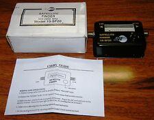 JVI Black Pocket Sized Signal Satellite Finder (10-SF20) LNB RCVR 950-2050 MHz