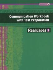 REALIDADES 2014 COMMUNICATION WORKBOOK WITH TEST PREPARATION LEVEL 3 by PRENTIC