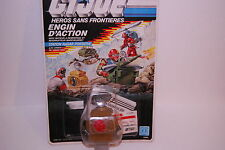 GI JOE COBRA ENGIN D'ACTION COBRA STATION RADAR PORTATIVE HASBRO 1987 NEUF/NEW