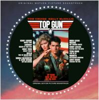 Top Gun OST Picture Disc Vinyl Brand New Sealed