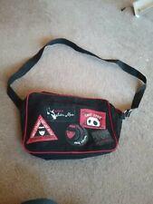 Emily Strange Black Red Bag College Satchel Cross Over Body Bag
