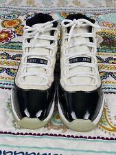 Air Jordan 11 XI Retro Concord 2011 Sz 12 Basketball Shoes Black White Sneakers