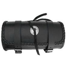 cuir moto Sac à outils Rouleau d'outils Porte bagages de la Siège barre