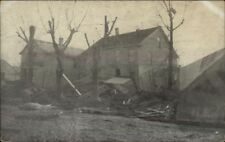 Lawrenceburg IN 1937 Flood Damage Postcard
