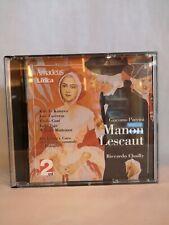 PUCCINI - Manon le Scaut -  Cofanetto CD - OPERA