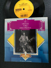 T REX - HOT LOVE / RIDE A WHITE SWAN - OLD GOLD PS  7INCH