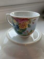 Ceramic Bird Bath, Floral, New, RRP £30