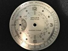 RARE NOS-Gruen-Chrono-timer-Chronograph-Dial - Doctors Pulsations