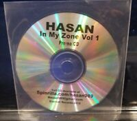 Hasan - In My Zone CD promotional horrorcore undergound bedlam kgp prozak km