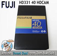 FujiFilm HDCAM HD331 40 Minutes Videocassette High-Quality HDTV - Brand New