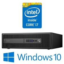 HP ProDesk 600 G1 SFF Desktop PC Intel Core i7 4770 8G 500G DVDRW Win 10 Pro