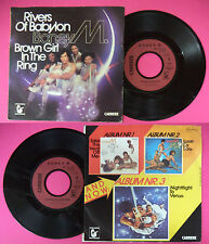 LP 45 7'' BONEY M Rivers of babylon Brown girl in the ring 1978 no cd mc dvd