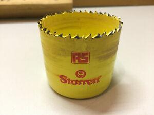 """Vintage RS Starrett 2 1/8""""-54mm HSS Bi-Metal Hole Saw Cutter"""