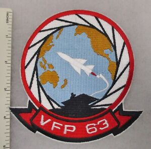 US NAVY VFP-63 FIGHTER PHOTOGRAPHIC SQUADRON PATCH USN NAVAL AVIATION