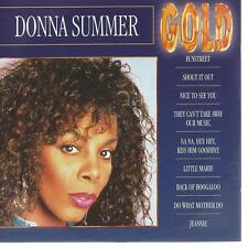 soul pop CD album DONNA SUMMER - GOLD   DISC-COUNT boutiqueS