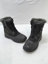 Pajar Canada Gayanna Gray Ankle Winter Boots Size 7-7.5  F4407 MY/