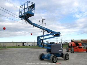 2013 Genie Z-45/25 45' 4WD Diesel Articulating Boom Lift Man Aerial bidadoo