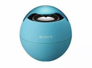 Sony SRSBTV5 Portable NFC Bluetooth Wireless Speaker System (Blue) NEW