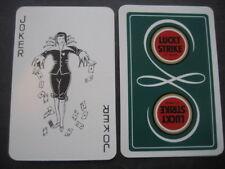JOKER. la publicité TABAC CIGARETTES LUCKY la grève. Simple Jouer carte