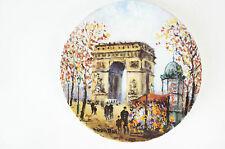 """Porcelaine de Limoges France """"L´Arc de Triomphe"""" Louis Dali NEU 47"""