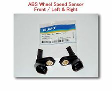 Set 2 ABS Wheel Speed Sensor  Front - Left & Right Fits: Audi Porsche VW