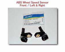 Set 2 ABS Wheel Speed Sensor  Front - Left & Right Fits: Audi Porsche VW