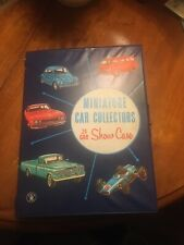 Miniature Car Collectors Case with 24 Vintage Cars