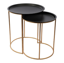 NEW Luxe Nesting Side Table Set