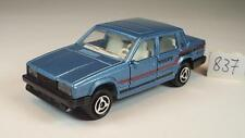 Majorette 1/61 Nr. 230 Volvo 760 GLE Limousine blaumetallic #837