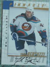 Todd Bertuzzi 1997-98 BAP Be A Player Autograph Auto #168 Canucks Red Wings