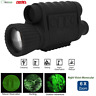 6X Infrared IR Night Vision Monocular 6X50 HD Optical Hunting Camping Telescope