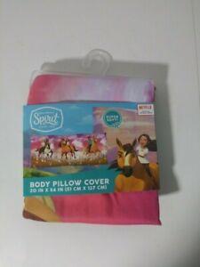 NEW Dreamworks SPIRIT Riding Free Body Pillow Cover